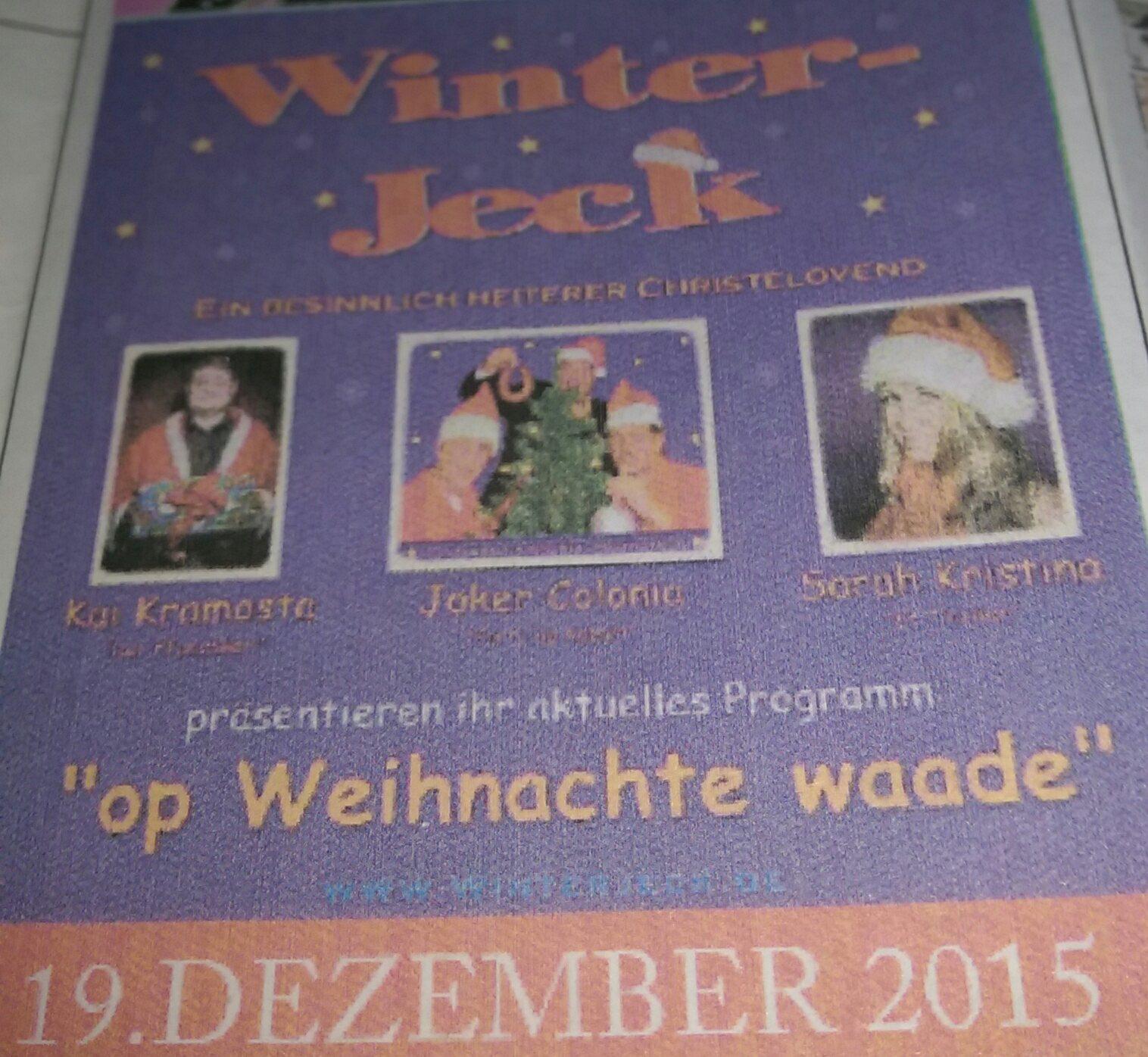 Winter jeck
